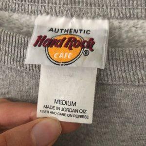 Hard Rock Cafe Tops - Hard Rock Cafe Sweatshirt
